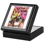 Happy Birthday Keepsake Box