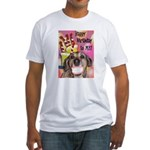 Happy Birthday Fitted T-Shirt