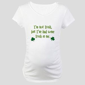Irish In Me Maternity T-Shirt