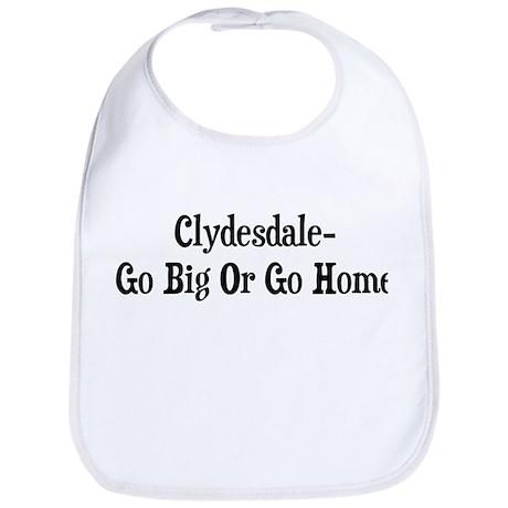Clydesdale Go Big Or Go Home Bib