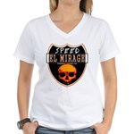 SPEED EL MIRAGE Women's V-Neck T-Shirt
