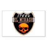SPEED EL MIRAGE Rectangle Sticker