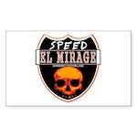 SPEED EL MIRAGE Rectangle Sticker