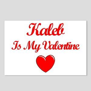 Kaleb is my Valentine  Postcards (Package of 8)