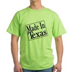 Made in Texas Green T-Shirt