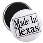"""Made in Texas 2.25"""" Magnet (100 pack)"""