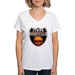 SPEED BONNEVILLE Women's V-Neck T-Shirt