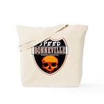SPEED BONNEVILLE Tote Bag