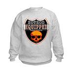 HOT ROD EQUIPPED Kids Sweatshirt