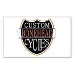 CUSTOM CYCLES Rectangle Sticker