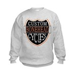 CUSTOM CYCLES Kids Sweatshirt