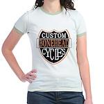 CUSTOM CYCLES Jr. Ringer T-Shirt