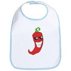 Cool Chili Pepper Bib