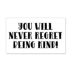 YOU WILL NEVER... Wall Decal