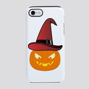 Jack O' Lantern with Red iPhone 8/7 Tough Case