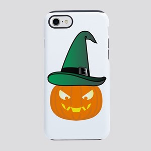 Jack O' Lantern with Gre iPhone 8/7 Tough Case