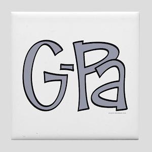 G-Pa (Grandpa) Tile Coaster