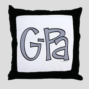 G-Pa (Grandpa) Throw Pillow