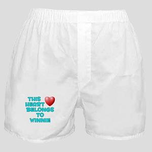 This Heart: Winnie (E) Boxer Shorts