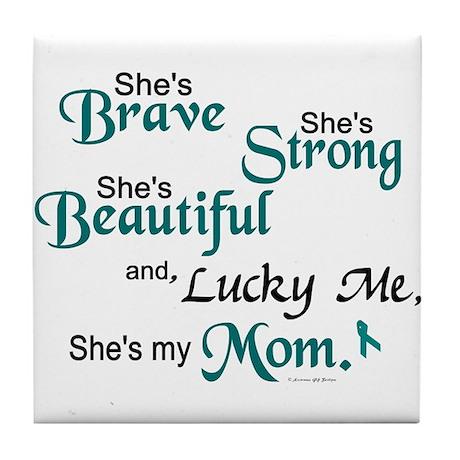 Lucky Me 1 (Mom OC) Tile Coaster