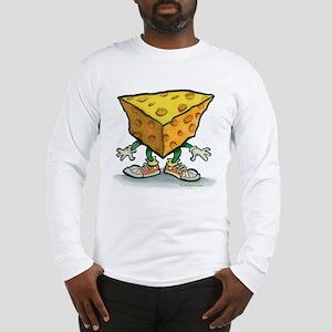 Cheese Head Long Sleeve T-Shirt