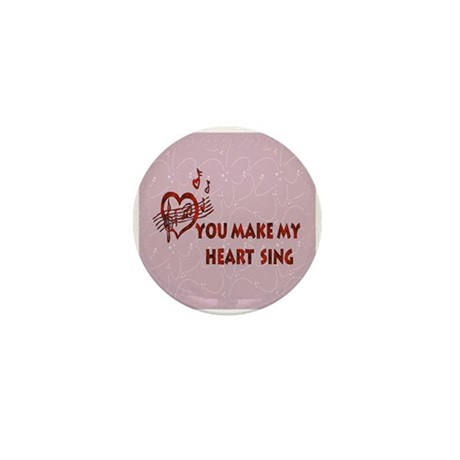Heart Song Valentine Mini Button (100 pack)