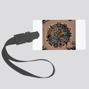 Unitarian Universalist 27 Mercha Large Luggage Tag