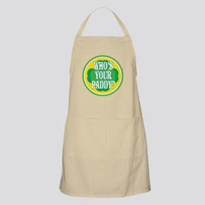 Who's Your Paddy BBQ Apron