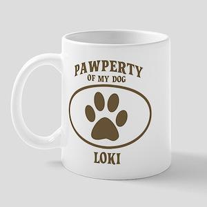 Pawperty of LOKI Mug