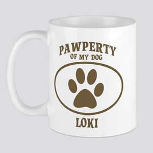 Pawperty of LOKI Mug