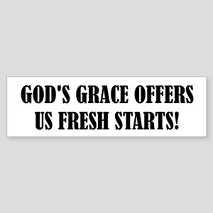 GOD'S GRACE... Bumper Sticker