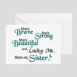 Lucky Me 1 (Sister OC) Greeting Card
