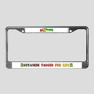 Guyana License Plate Frame