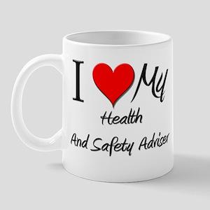 I Heart My Health And Safety Adviser Mug