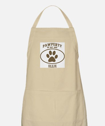 Pawperty of ELLIE BBQ Apron