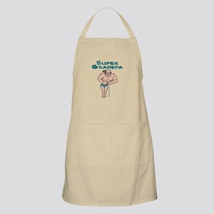 Super Grandpa Gifts BBQ Apron