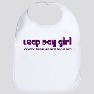 Leap Day Girl Bib