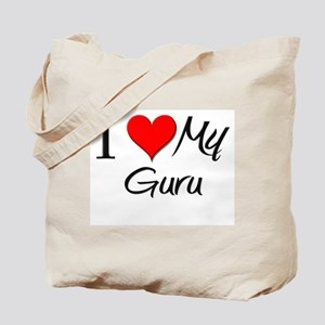 I Heart My Guru Tote Bag