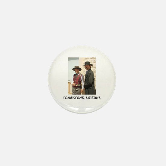 Wyatt Earp and Doc Holliday Button