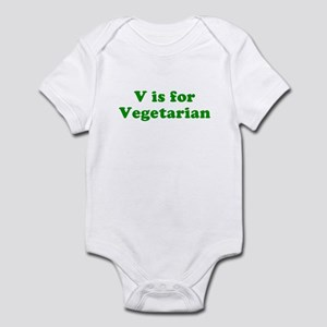 V is for Vegetarian Infant Creeper