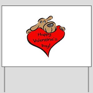 Happy Valentines Day Tie1707970035 Dog Watches Kids Yard Signs