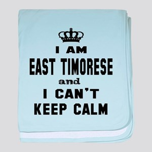 I am East Timorese and I can't keep c baby blanket