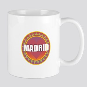 Madrid Sun Heart Mugs