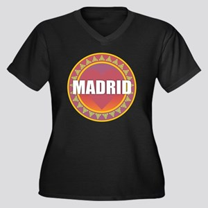 Madrid Sun Heart Plus Size T-Shirt