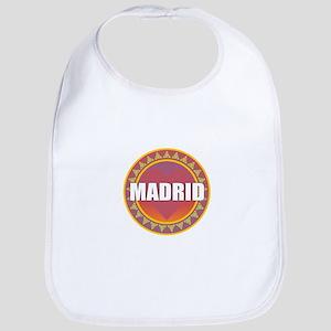 Madrid Sun Heart Baby Bib