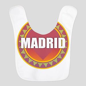 Madrid Sun Heart Polyester Baby Bib