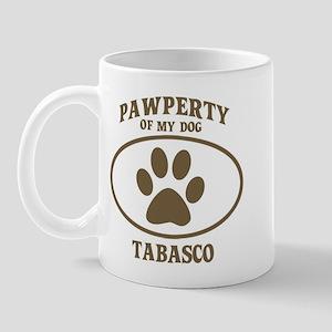 Pawperty of TABASCO Mug