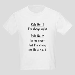 The Rules Kids Light T-Shirt