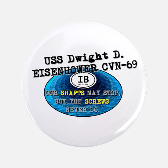 "IKE BITES 3.5"" Button"