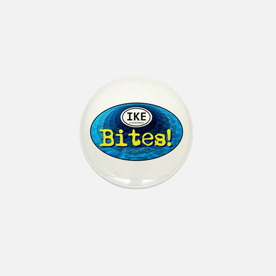 IKE BITES Mini Button